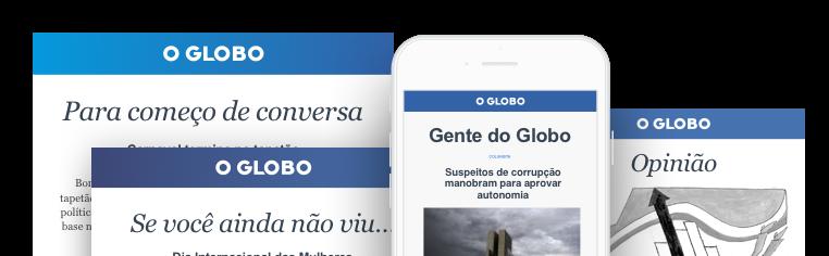 Newsletters O Globo